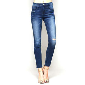 [Flying Monkey] Distress High-Rise Skinny Jean